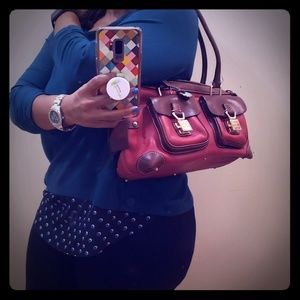 Original Dooney and Bourke Leather Red Purse